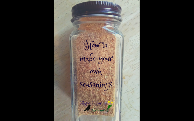 How to Make Your Own Seasonings